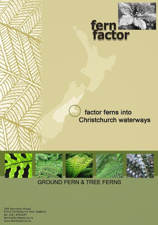 Publication - Factor Ferns for Waterways