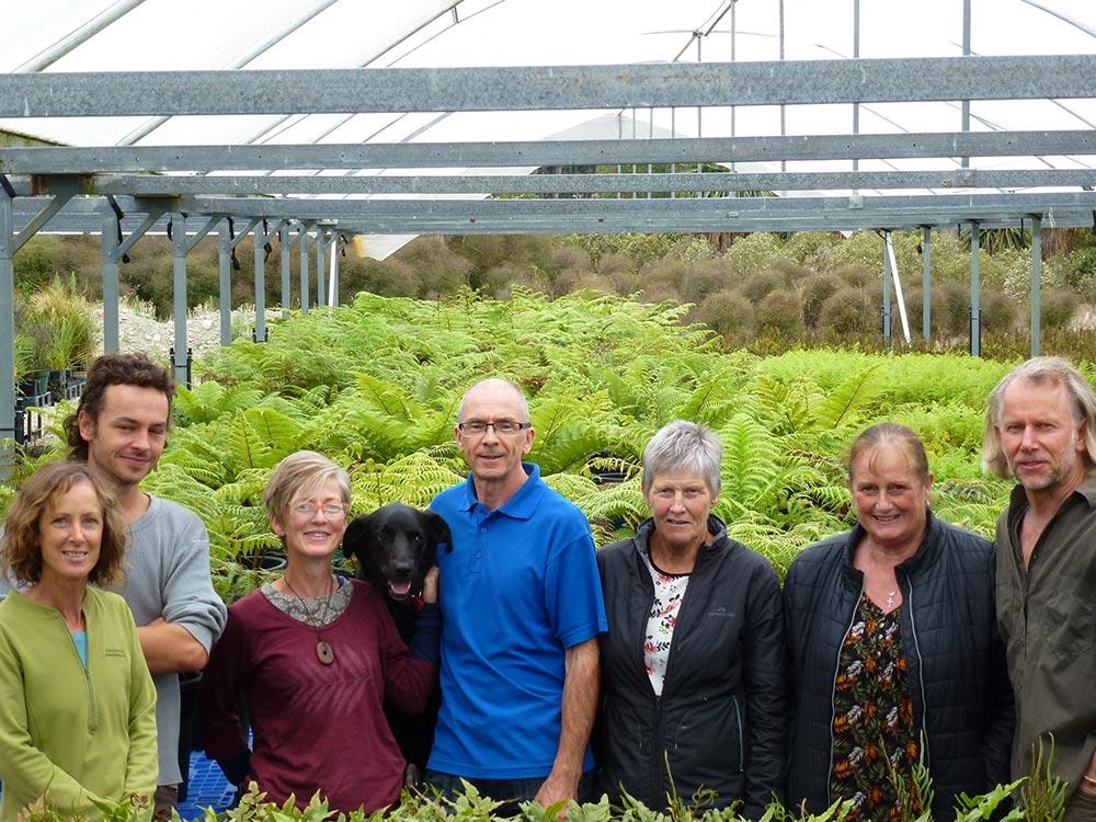Team at Fern Factor Christchurch